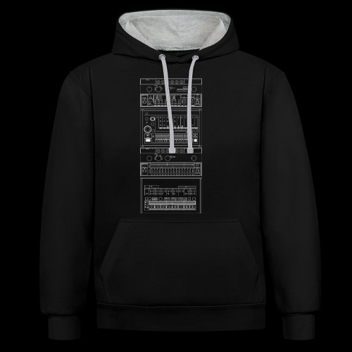 Synth Classix - Contrast Colour Hoodie
