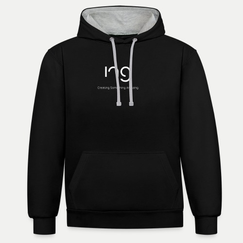 ing Original's - Contrast Colour Hoodie