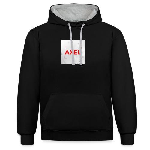 Youtube Logo - Contrast hoodie