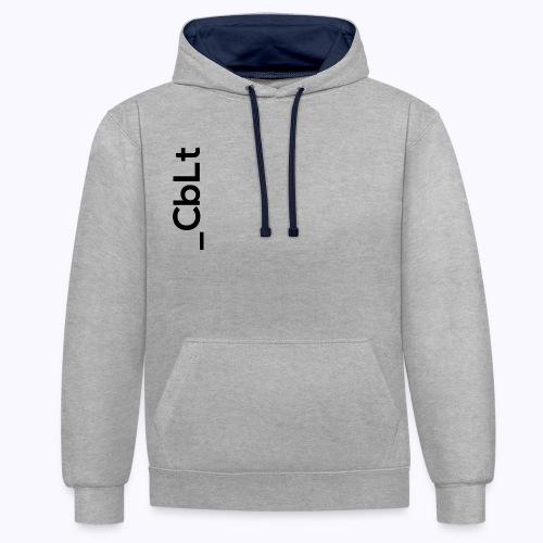 CbLt Logo - Contrast Colour Hoodie