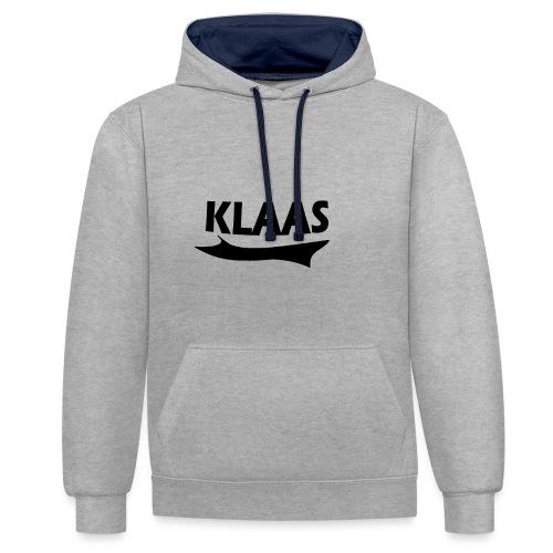 KLAAS - Contrast hoodie