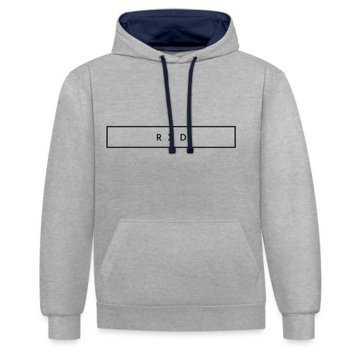 RXD - Contrast Colour Hoodie