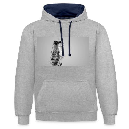 Art et Design - Sweat-shirt contraste