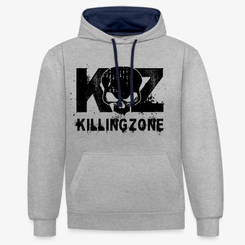 Killingzone Logo - Kontrast-Hoodie