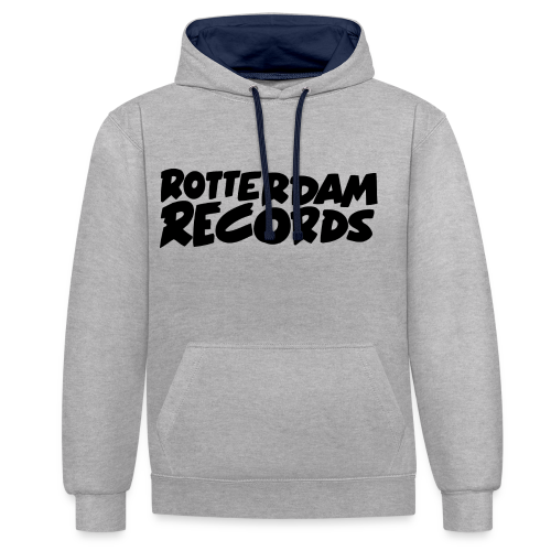 Rotterdam Records - Contrast Colour Hoodie