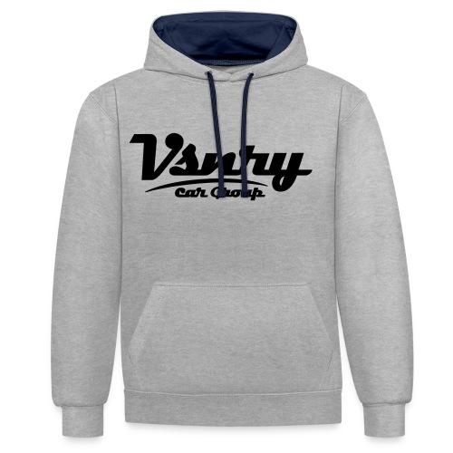 Vsnry Car Group Logo - Kontrast-Hoodie