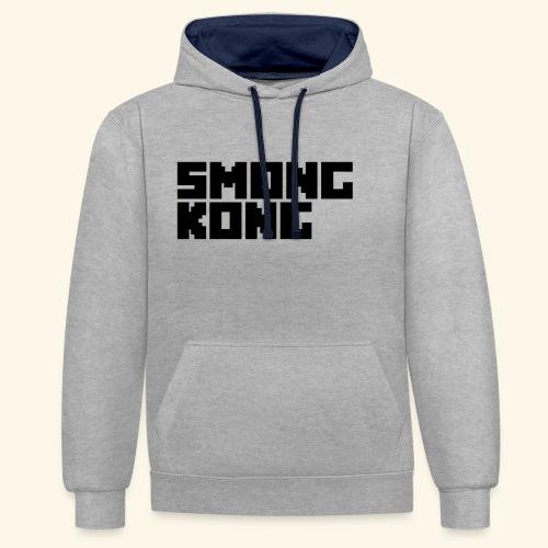 Smong kong merkevare - Kontrast-hettegenser