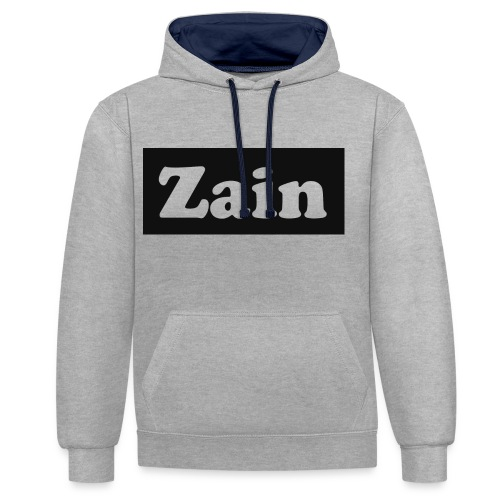 Zain Clothing Line - Contrast Colour Hoodie