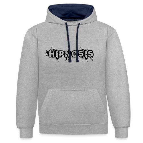 Hipnosis Logo - Contrast Colour Hoodie
