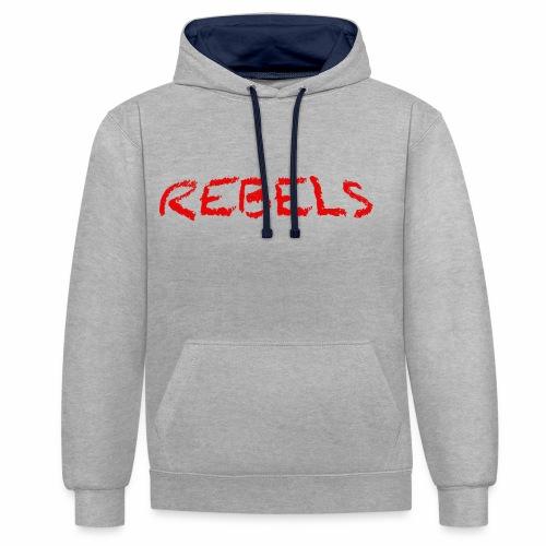 Rebels - Contrast hoodie