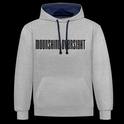 Moonshine Oversight logo - Sweat-shirt contraste