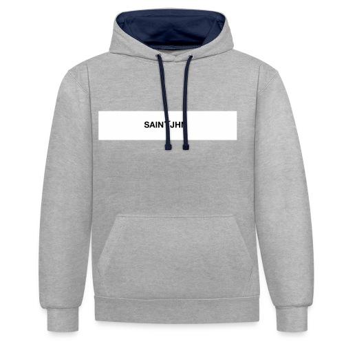 Saint JHN BOGO - Kontrast-hættetrøje