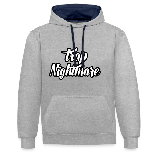 conception lisse - Sweat-shirt contraste