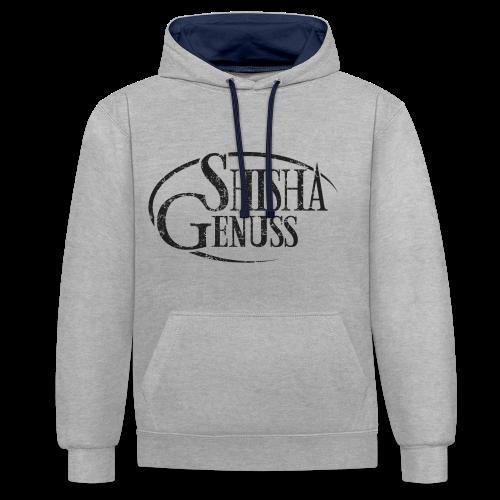 #SHISHA GENUSS Hoodie - Kontrast-Hoodie
