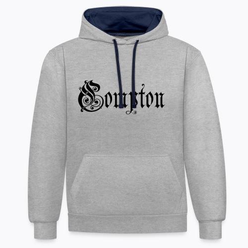 Compton - Kontrast-Hoodie