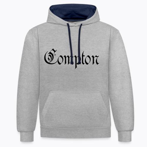Compton 2 - Kontrast-Hoodie