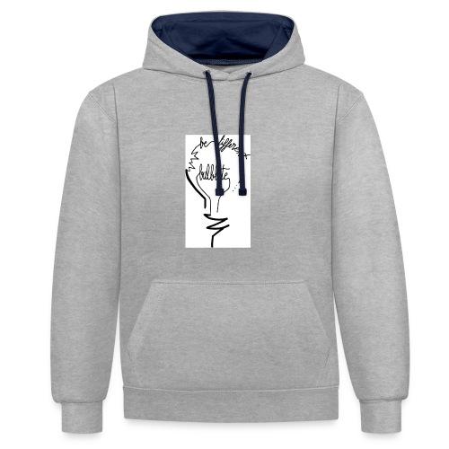 camiseta-original-chico-modelo-bulbbite-logo-bulb- - Sudadera con capucha en contraste