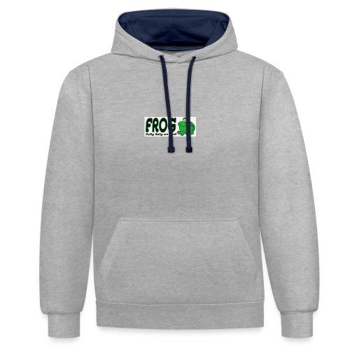 FROG - Contrast hoodie