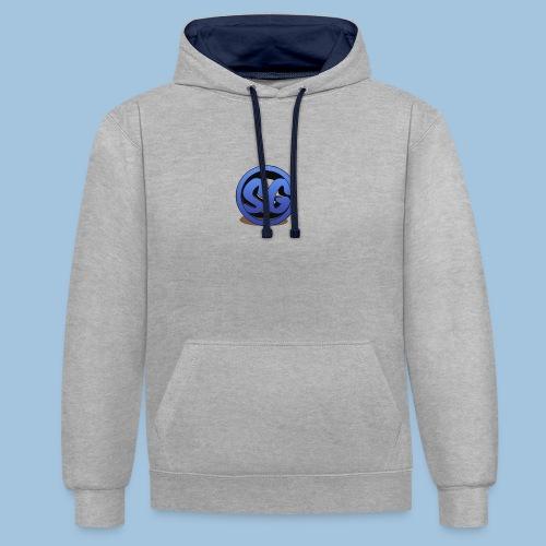 SompigGames Logo Vernieuwd - Contrast hoodie