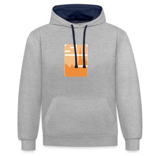 Logo-VZW-Sint-Lodewijk-jpg - Contrast hoodie