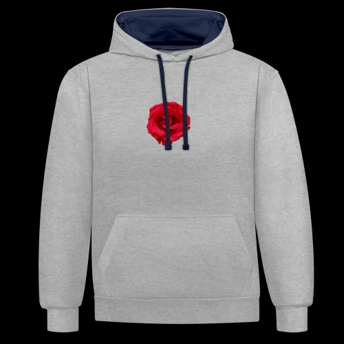 ForeMan - TheMansRose - Contrast Colour Hoodie