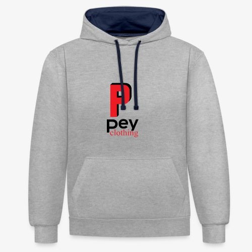 pey clothing - Sweat-shirt contraste