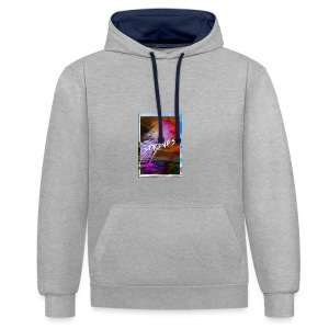 The Springs - Contrast Colour Hoodie
