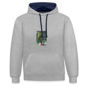 ART ON A CASE- 2 - Contrast hoodie
