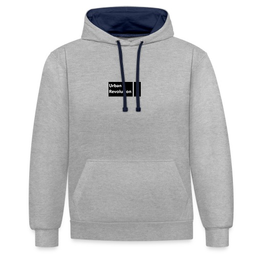 Urban Revolution - Contrast Colour Hoodie