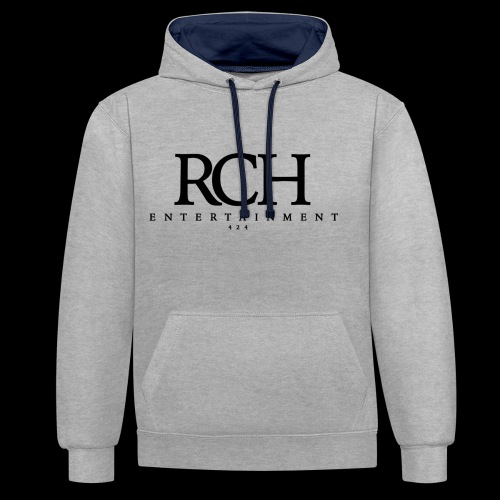 RCH ENTERTAINMENT - Kontrast-Hoodie