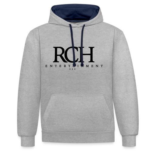 RCH ENTERTAINMENT - Kontrast-Hoodie