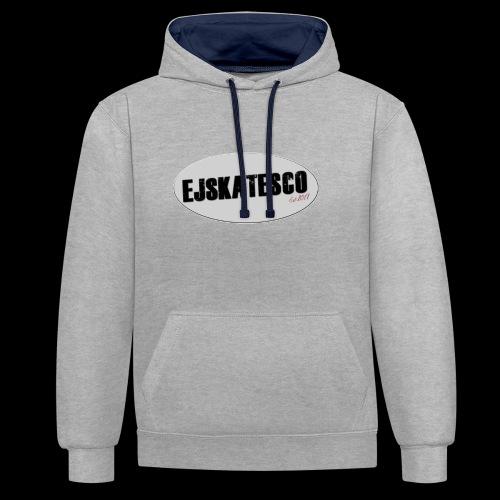EJSKATESco - Contrast Colour Hoodie
