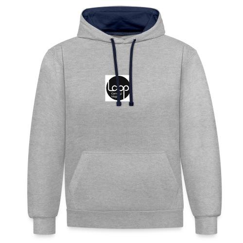 Loop-Gaming - Kontrast-hettegenser