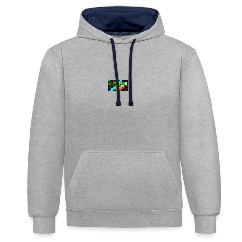 Slither.io - Sweat-shirt contraste