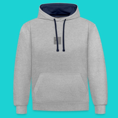 logo-png - Contrast Colour Hoodie
