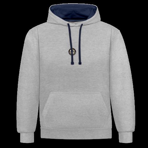 Tårnby FF logo - Kontrast-hættetrøje