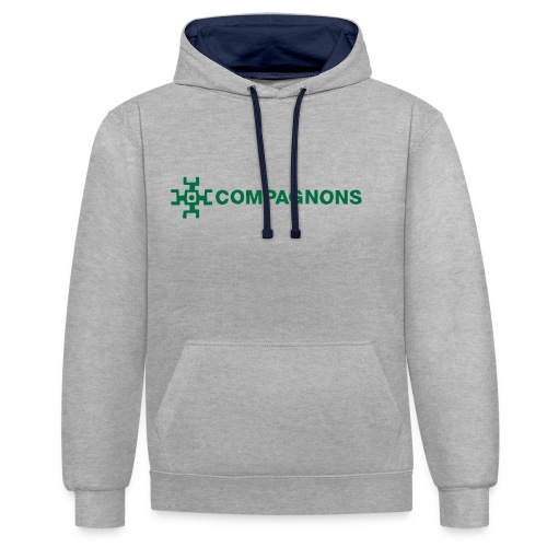 Branche Compagnons - Sweat-shirt contraste