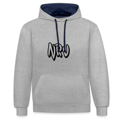 NRV - Sweat-shirt contraste