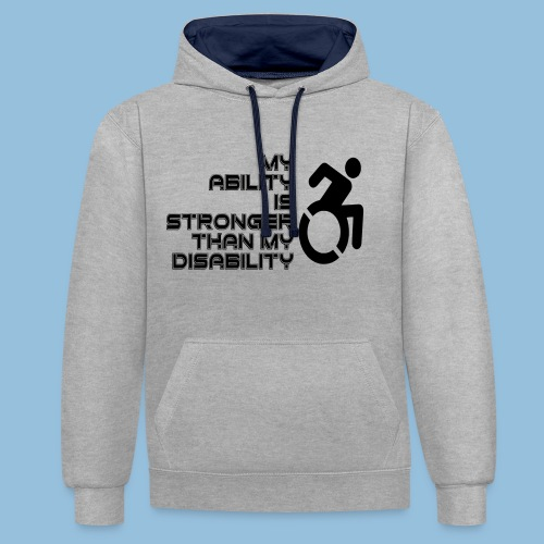 Ability1 - Contrast hoodie