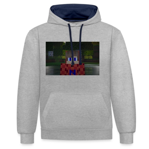 Mein Minecraft-Skin - Kontrast-Hoodie
