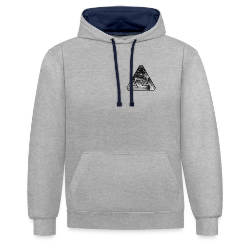 Notorious Southbank TRI - Contrast Colour Hoodie