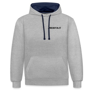 The Official Mrkintoast Logo - Contrast Colour Hoodie