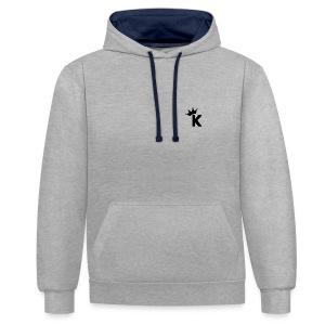 K's Crown - Contrast Colour Hoodie