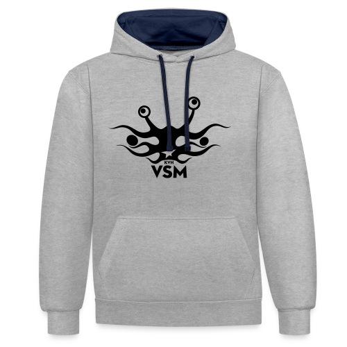Kerk van het Vliegend Spaghettimonster - Contrast hoodie