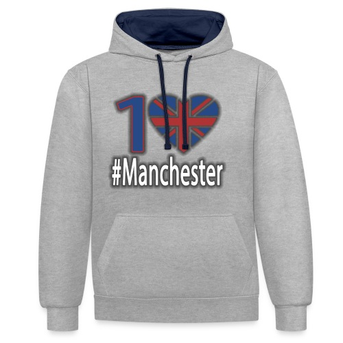 One Love Manchester - Contrast Colour Hoodie