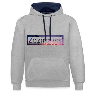 Zozimuss sunset. - Contrast Colour Hoodie