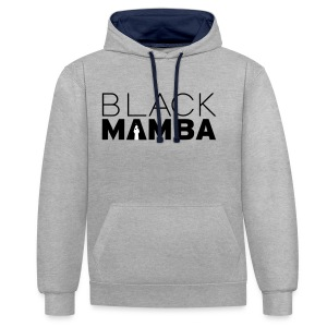 Black Mamba - Contrast Colour Hoodie