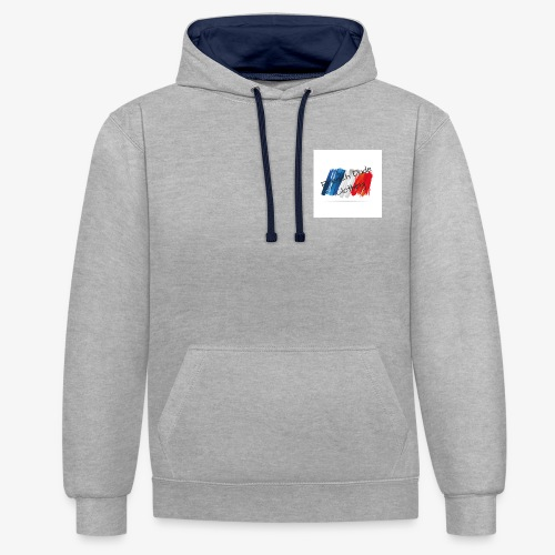 French Dude Clothing - Sweat-shirt contraste