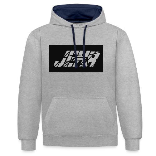 JEHR logo - Contrast hoodie
