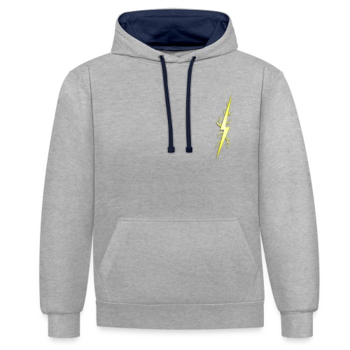 EXTREME COLLECTION- EVERDAY WEAR - Contrast Colour Hoodie